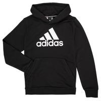tekstylia Chłopiec Bluzy adidas Performance MANEZ Czarny