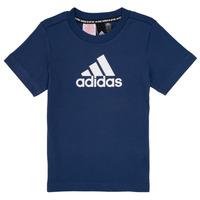 tekstylia Chłopiec T-shirty z krótkim rękawem adidas Performance BRIAN Marine