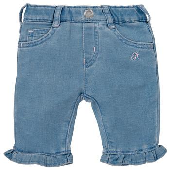 tekstylia Dziewczynka Spodnie z pięcioma kieszeniami Emporio Armani Arthur Niebieski