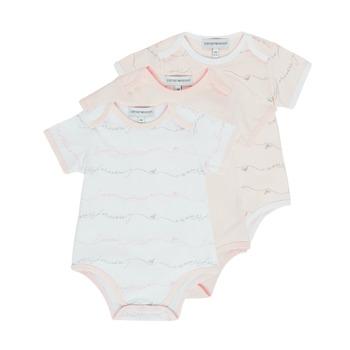 tekstylia Dziewczynka Piżama / koszula nocna Emporio Armani Alexander Różowy