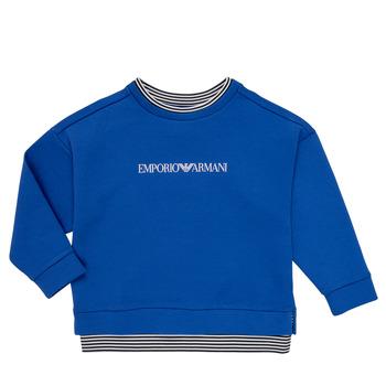 tekstylia Chłopiec Bluzy Emporio Armani Aurèle Niebieski