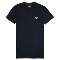 tekstylia Chłopiec T-shirty z krótkim rękawem Emporio Armani Benoit Marine