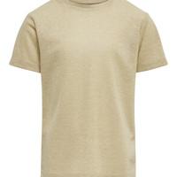 tekstylia Dziewczynka T-shirty z krótkim rękawem Only KONSILVERY Złoty