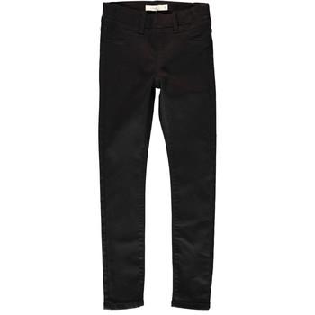 tekstylia Dziewczynka Spodnie z pięcioma kieszeniami Name it NITTINNA Czarny