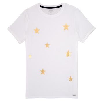 tekstylia Dziewczynka T-shirty z krótkim rękawem Name it NKFBONITA Różowy