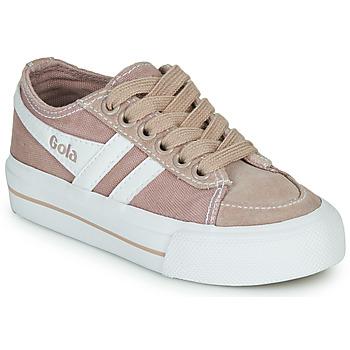 Buty Dziecko Trampki niskie Gola QUOTA II Różowy / Biały