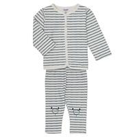 tekstylia Chłopiec Komplet Noukie's KAIS Biały