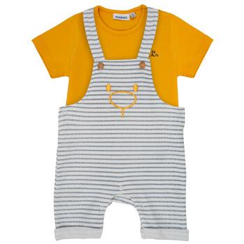 tekstylia Chłopiec Komplet Noukie's YOUSSEF Żółty