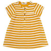 tekstylia Dziewczynka Sukienki krótkie Noukie's YOUNES Żółty