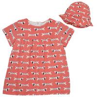 tekstylia Dziewczynka Sukienki krótkie Noukie's KENZO Różowy