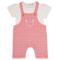 tekstylia Dziewczynka Komplet Noukie's MINO Różowy
