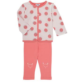 tekstylia Dziewczynka Komplet Noukie's OSCAR Różowy