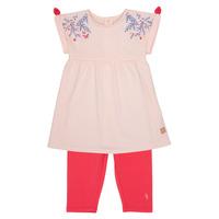 tekstylia Dziewczynka Komplet Carrément Beau AIMEE Różowy
