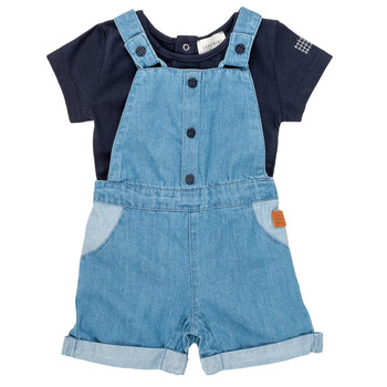 tekstylia Chłopiec Komplet Carrément Beau OTIS Niebieski