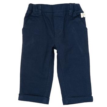 tekstylia Chłopiec Spodnie z pięcioma kieszeniami Carrément Beau ORNANDO Niebieski