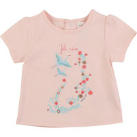 tekstylia Dziewczynka T-shirty z krótkim rękawem Carrément Beau JUSTINE Różowy