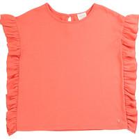 tekstylia Dziewczynka T-shirty z krótkim rękawem Carrément Beau LEANA Różowy