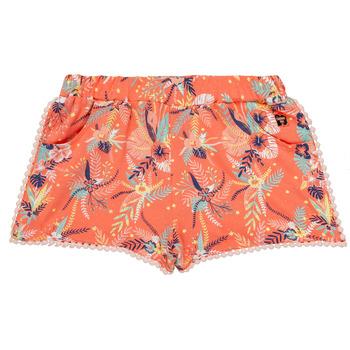 tekstylia Dziewczynka Szorty i Bermudy Carrément Beau ELENA Różowy