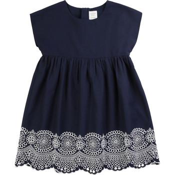 tekstylia Dziewczynka Sukienki krótkie Carrément Beau LISE Niebieski