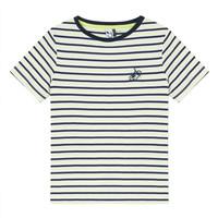 tekstylia Chłopiec T-shirty z krótkim rękawem 3 Pommes NORDINE Żółty
