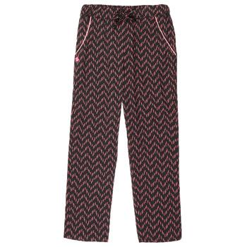 tekstylia Dziewczynka Spodnie z pięcioma kieszeniami 3 Pommes ALICE Czarny