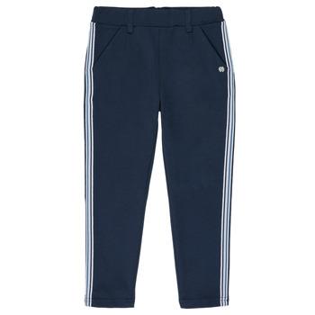 tekstylia Dziewczynka Spodnie z pięcioma kieszeniami 3 Pommes SYLVANA Niebieski