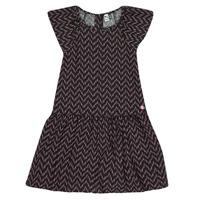 tekstylia Dziewczynka Sukienki krótkie 3 Pommes JULIE Czarny