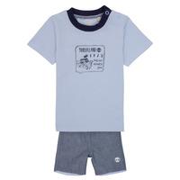 tekstylia Chłopiec Komplet Timberland AXEL Niebieski