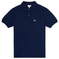 tekstylia Chłopiec Koszulki polo z krótkim rękawem Lacoste LOLLA Marine