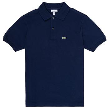 tekstylia Chłopiec Koszulki polo z krótkim rękawem Lacoste CYRINNE Marine