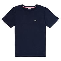 tekstylia Chłopiec T-shirty z krótkim rękawem Lacoste KETLEEN Marine