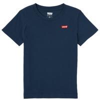 tekstylia Chłopiec T-shirty z krótkim rękawem Levi's BATWING CHEST HIT Marine