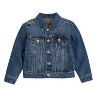 tekstylia Chłopiec Kurtki jeansowe Levi's TRUCKER JACKET Bristol
