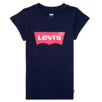 tekstylia Dziewczynka T-shirty z krótkim rękawem Levi's BATWING TEE Marine