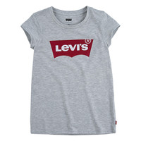 tekstylia Dziewczynka T-shirty z krótkim rękawem Levi's BATWING TEE Szary