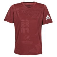 tekstylia Męskie T-shirty z krótkim rękawem adidas Performance DAILY PRESS TEE Czerwony