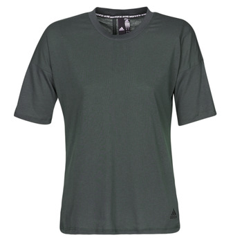 tekstylia Damskie T-shirty z krótkim rękawem adidas Performance W MH 3S Tee Czarny