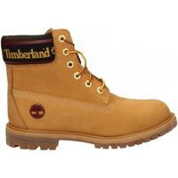 Buty Damskie Buty za kostkę Timberland 6in Premium WP Boot L/F- W wheat-giallo