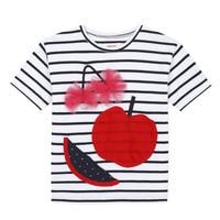 tekstylia Dziewczynka T-shirty z krótkim rękawem Catimini KUSY Biały