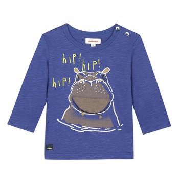 tekstylia Chłopiec T-shirty z krótkim rękawem Catimini MEYER Niebieski