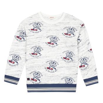 tekstylia Chłopiec Bluzy Catimini KATEL Biały