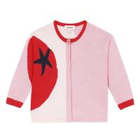 tekstylia Dziewczynka Swetry rozpinane / Kardigany Catimini LIANA Różowy