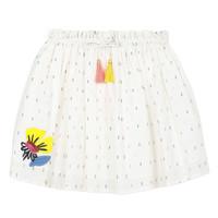 tekstylia Dziewczynka Spódnice Catimini ALINA Biały