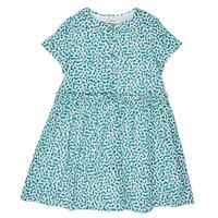 tekstylia Dziewczynka Sukienki krótkie Catimini ELLA Biały