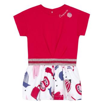 tekstylia Dziewczynka Sukienki krótkie Catimini DAMIANO Czerwony