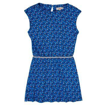 tekstylia Dziewczynka Sukienki krótkie Catimini SWANY Niebieski