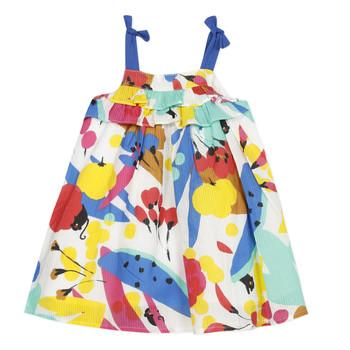 tekstylia Dziewczynka Sukienki krótkie Catimini THEO Biały