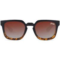 Zegarki & Biżuteria  okulary przeciwsłoneczne The Indian Face Tarifa Brązowy