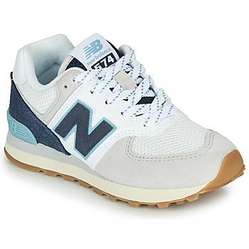 Buty Trampki niskie New Balance GC574SOU Biały / Niebieski