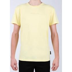 tekstylia Męskie T-shirty z krótkim rękawem DC Shoes T-shirt DC EDYKT03376-YZL0 żółty